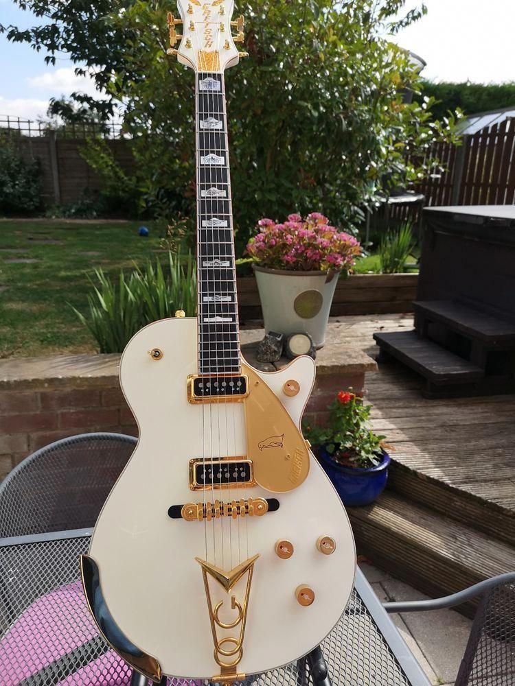 Gretsch white penguin electric guitar electric guitar
