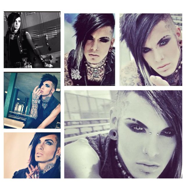 Made this collage of Jayy Von Monroe . The pictures belong to him .