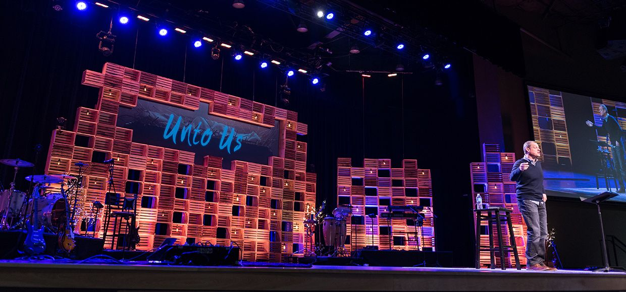 Cratemas From The Crossing In Las Vegas, NV   Church Stage Design Ideas