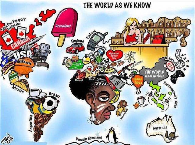 THE WORLD AS WE KNOW... so true, so funny!