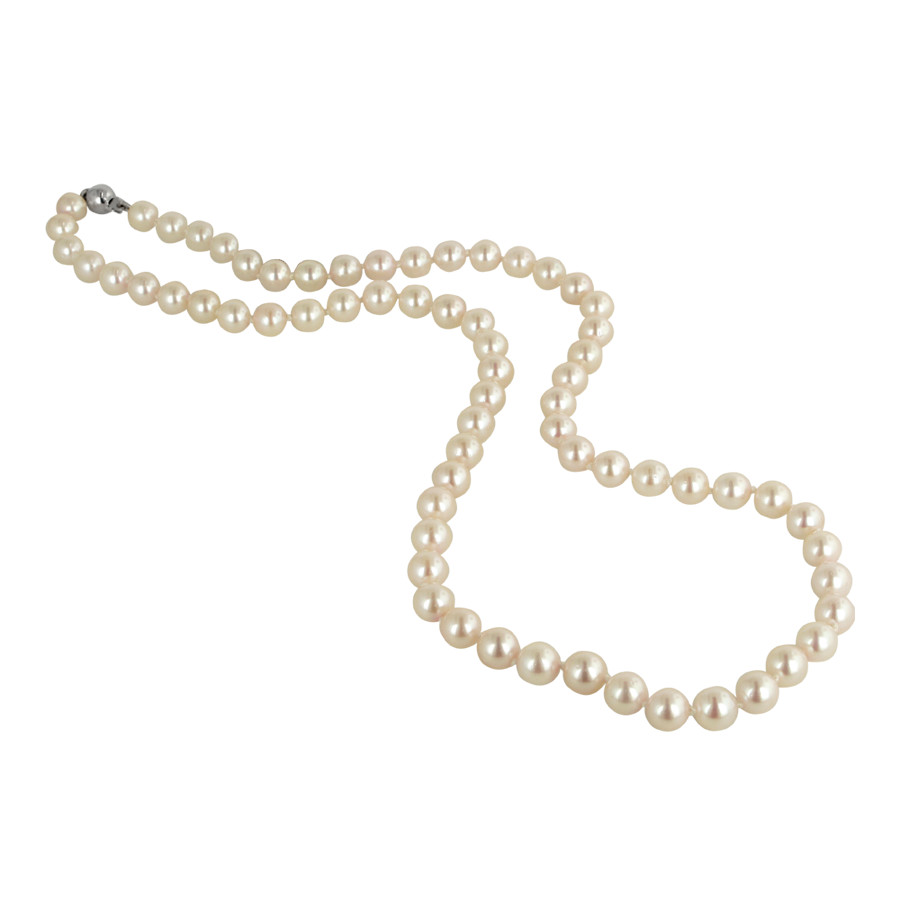 Jewellery Institute Of Pearl Necklace Gemological America Pearl Necklace Pearls Akoya Pearl Necklace