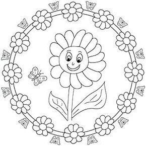 Pin Von Madeleine Panzer Auf Malvorlagen Pinterest Sonnenblumen