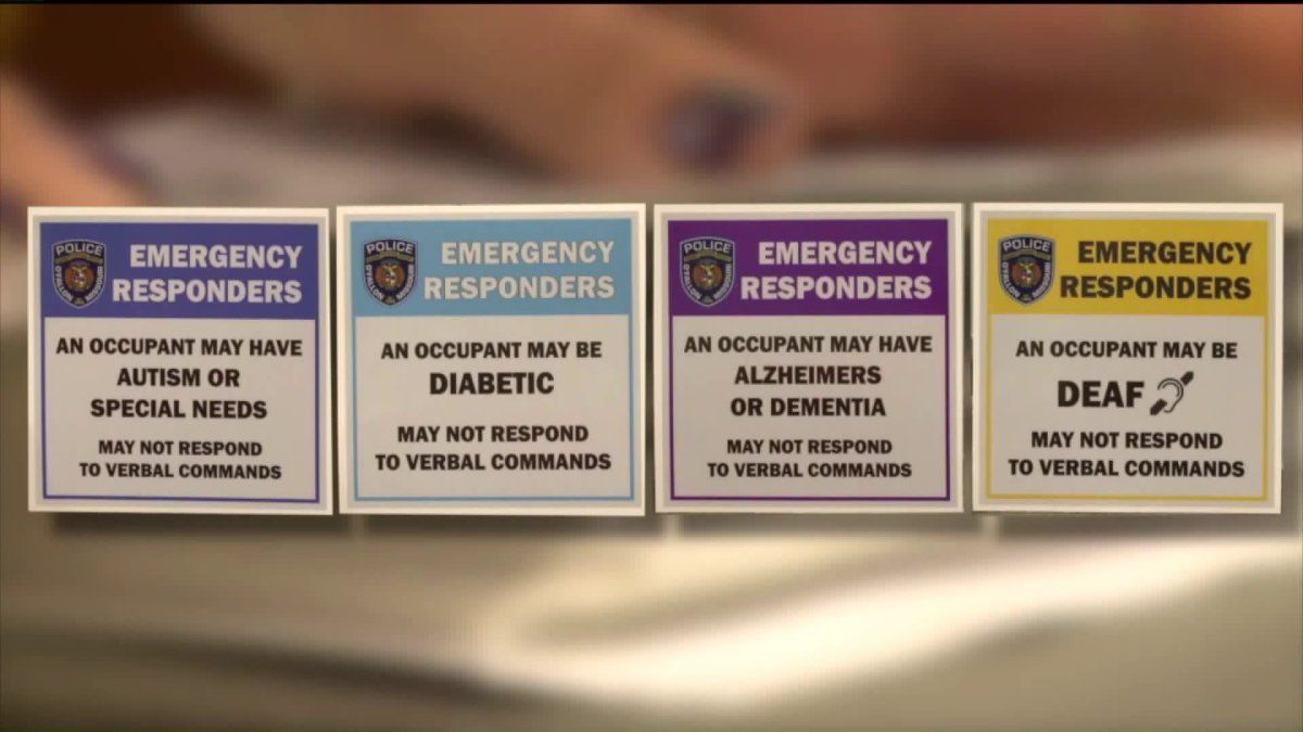 O Fallon Mo Police Gives Free Stickers To Keep People With Special