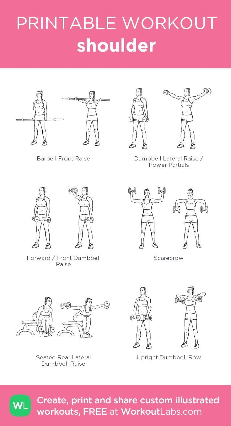 Shoulder: My visual workout created at WorkoutLabs.com Click through to Mode…