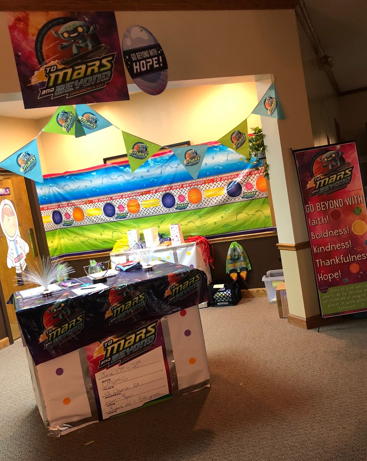 WOW your to Mars VBS! Just look at all the ways