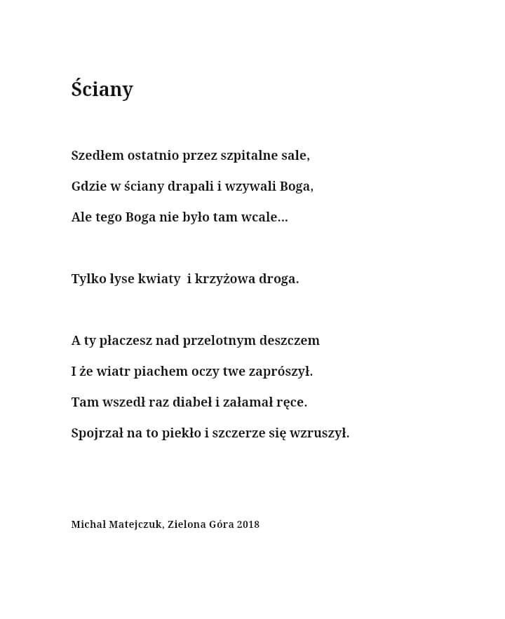 Pin By Angelika Jurewicz On Pisane Przez Poetry Quotes Poems Poetry