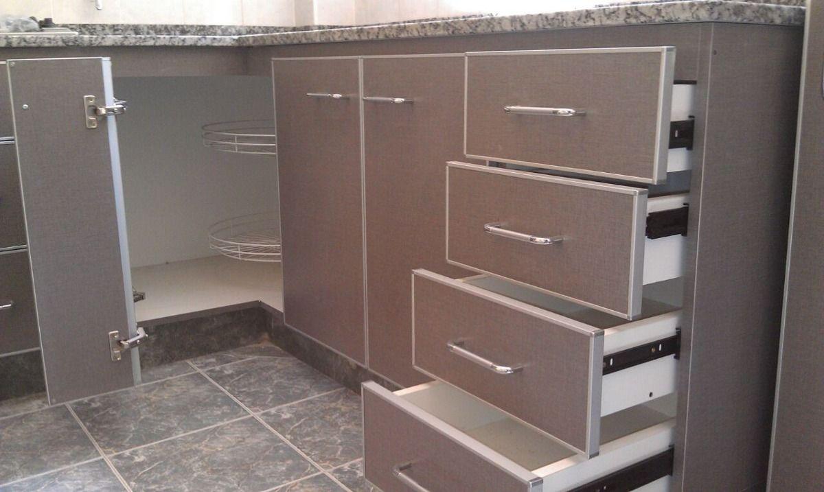 Severino muebles de cocina a medida bajo mesada alacena for Muebles de cocina bajos
