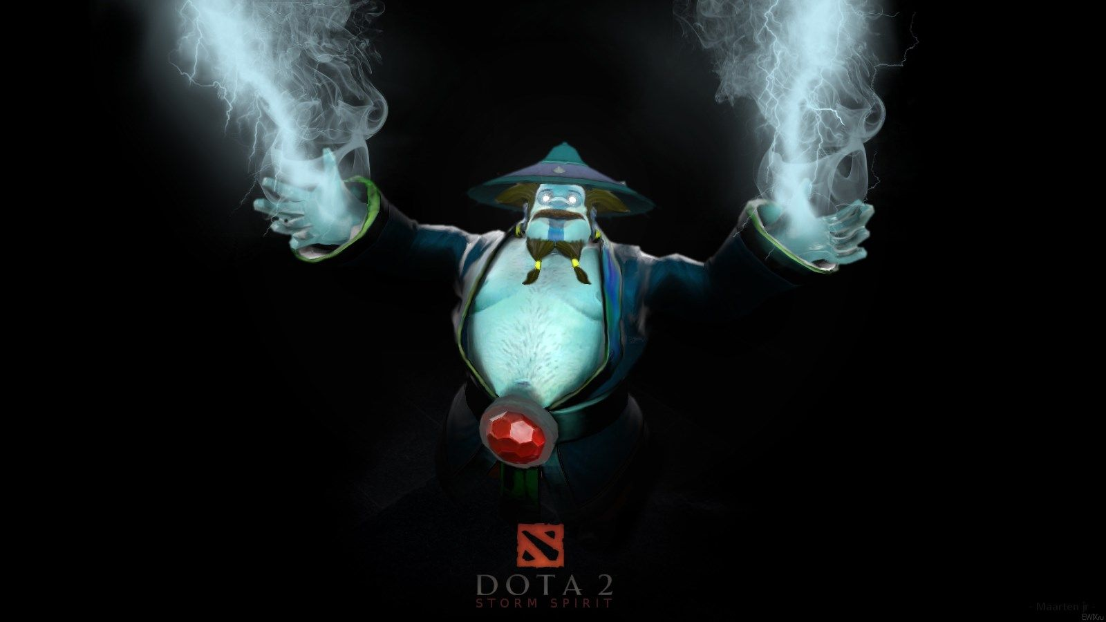 1600x900 Storm Spirit Dota 2 Wallpaper Hd Dota In 2018