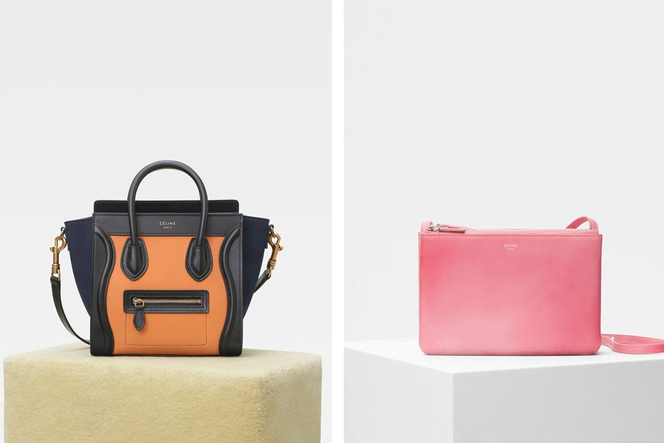 80bac87feef33 The new colors of Celine Luggage and the Cloudy Print, see all the prices  and details of the classic bags via here.