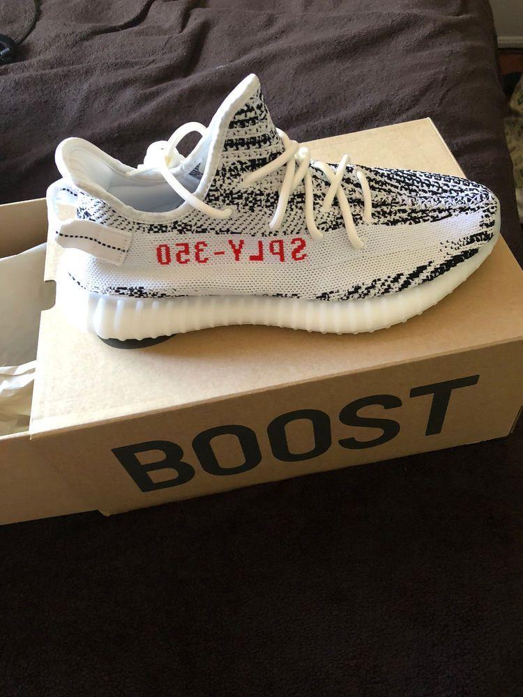 2340fba50f721 adidas Yeezy Boost 350 V2 Zebra Size 10 US Cp9654  fashion  clothing  shoes