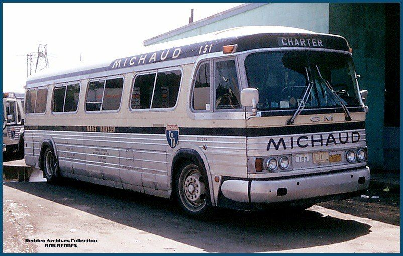 Michaud Bus Lines GM PD4104 our 160 Buses Michaud Bus