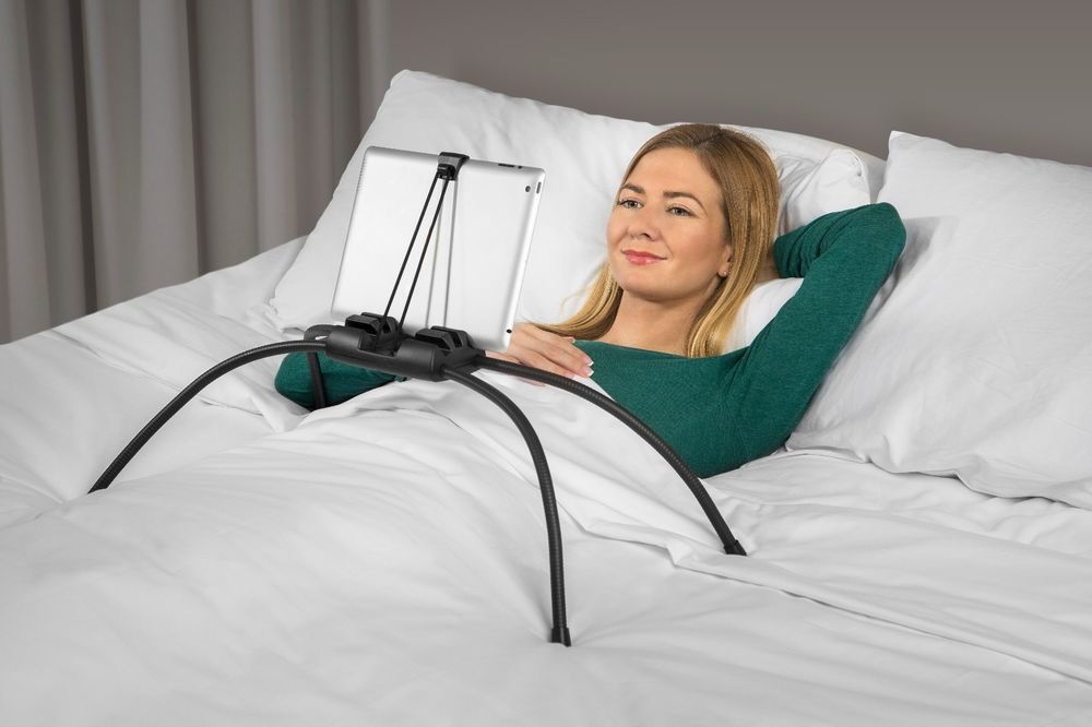 Tablift Tablet Stand For The Bed Sofa Or Any Uneven Surface Open Box Nbryte Tablet Stand Bed Stand Tablet Holder