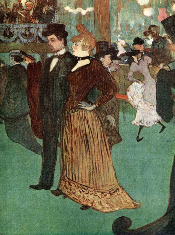 Henri De Toulouse Lautrec At the Moulin Rouge or The Promenade