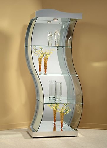 Lotus Lola Curio Cabinets By Ello Furniture