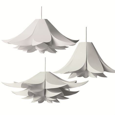 Flower Inspired Contemporary Lamp Shape Design Modern Shade Minimalist Liances