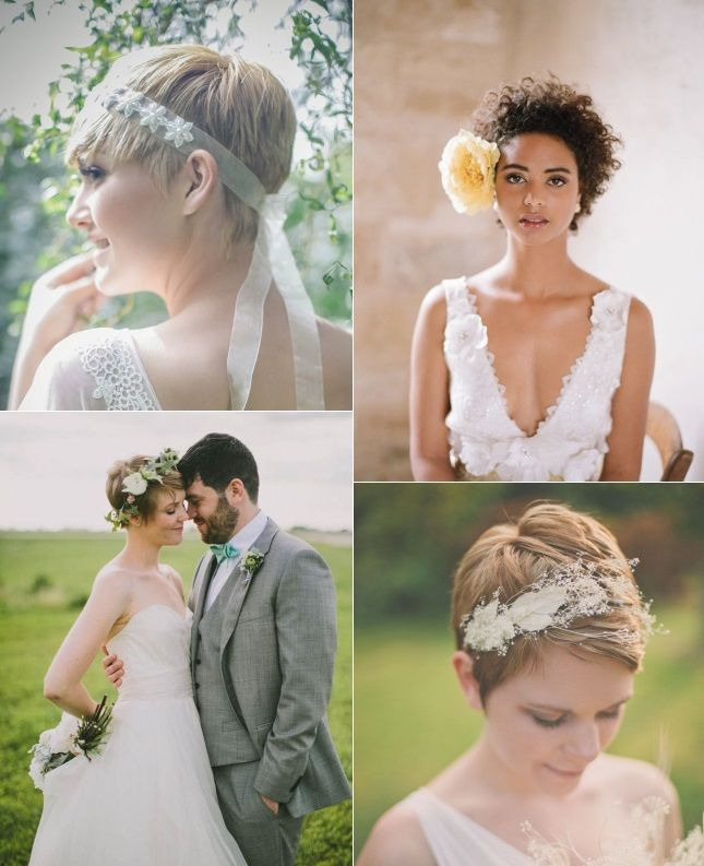 9 Short Wedding Hairstyles For Brides With Short Hair Confetti Ie Short Wedding Hair Wedding Hairstyles Bride Short Hair Bride