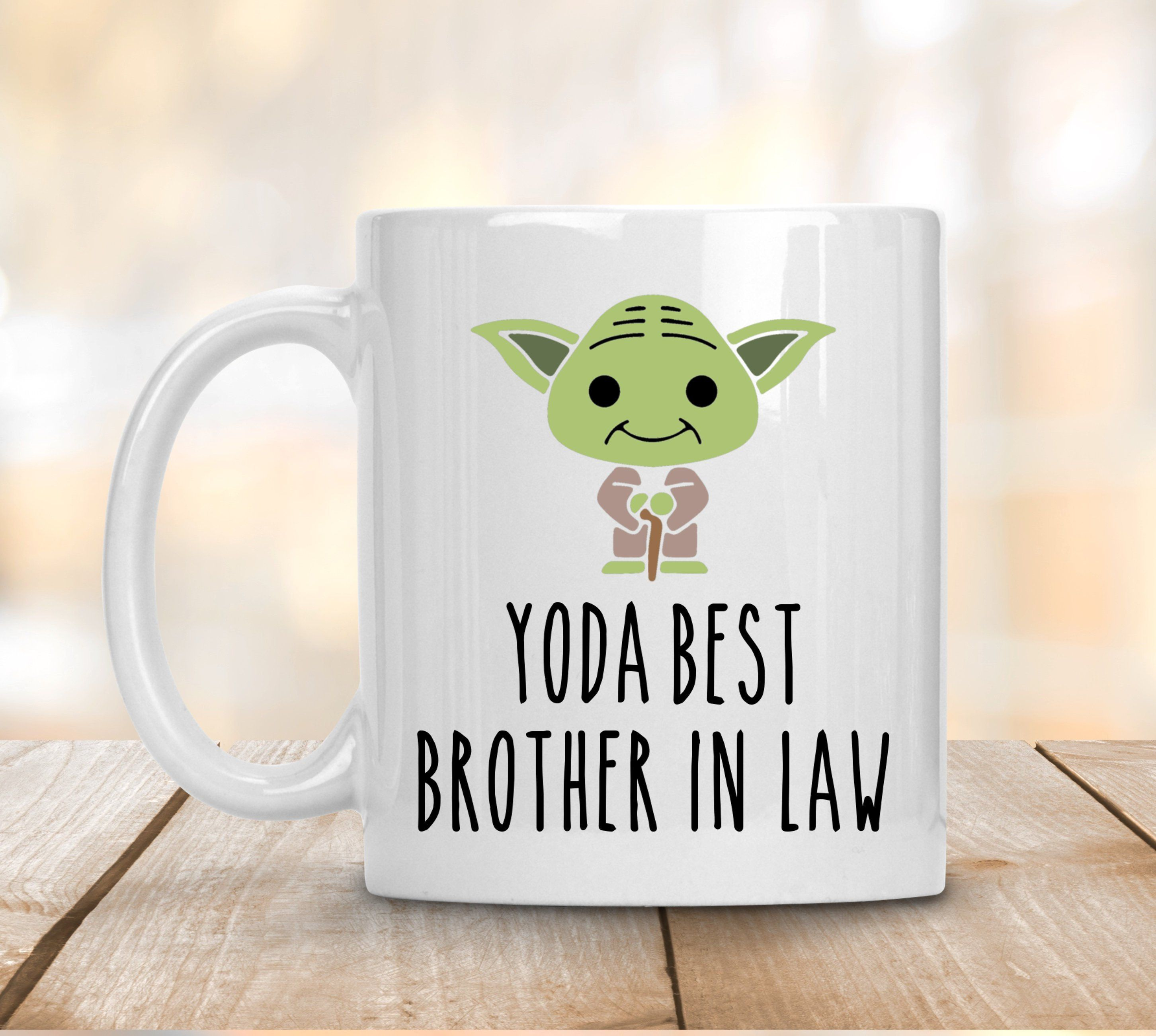 Yo Da Best Brother In Law Coffee Mug, Gift for Brother In