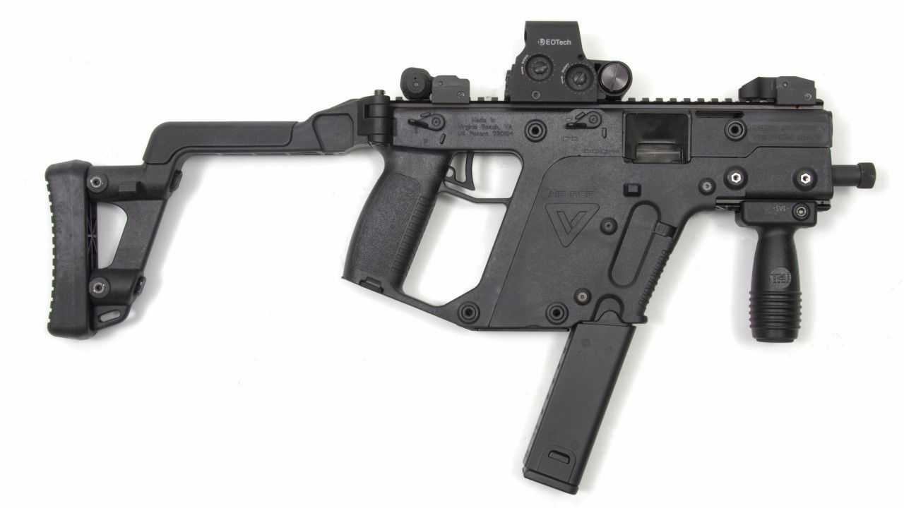 KRISS Vector, submachine gun, USA | Kriss Vector Reference