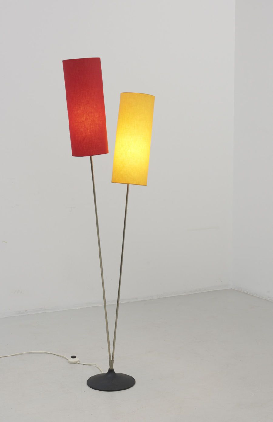 A Floor Lamp In Red And Yellow 1960s Design Modest Furniture In 2020 Lamp Floor Lamp Red Yellow