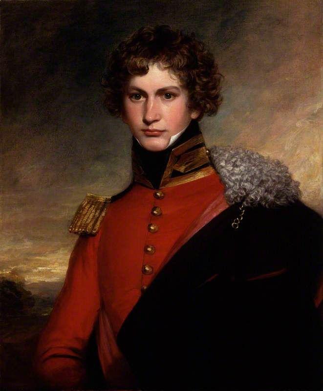 Sir William Cornwallis Harris by Ramsay Richard Reinagle (attributed to), c.1823. National Portrait Gallery, London