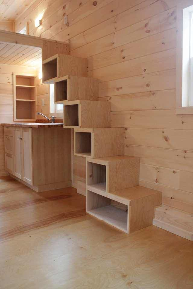 Sherwood Tiny House #tinyhousestorage