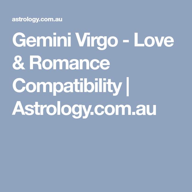 Virgo gemini compatibility cafe astrology 2020