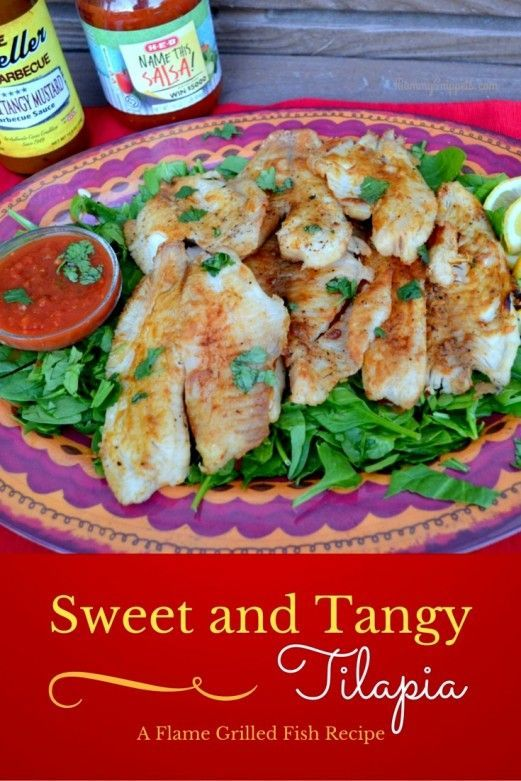 Sweet And Tangy Flame Grilled Fish Recipe Primopicks Mommy Snippets Grilled Fish Recipes