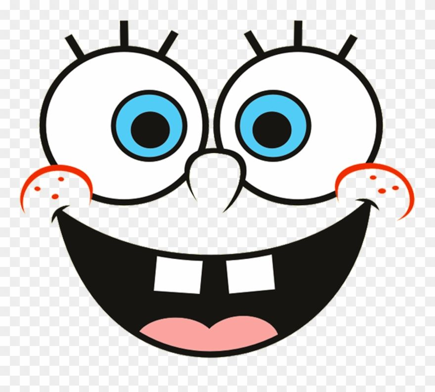 Download Hd Spongebob Face Png Spongebob Squarepants Clipart And Use The Free Clipart For Your Creative Project Spongebob Faces Spongebob Easy Doodle Art