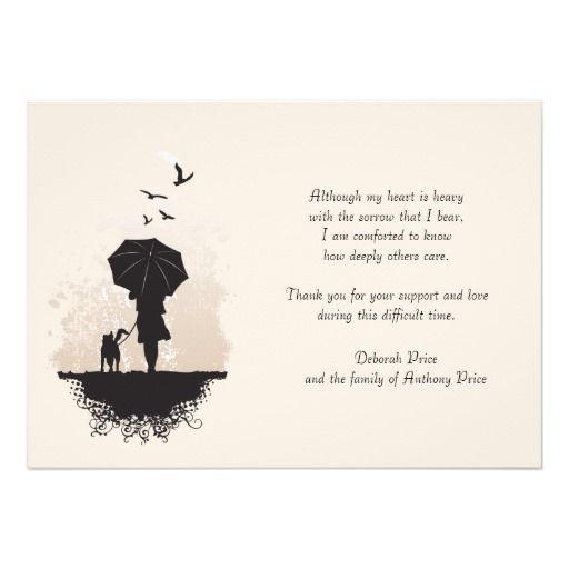 richery glow  words for sympathy card sympathy thank you