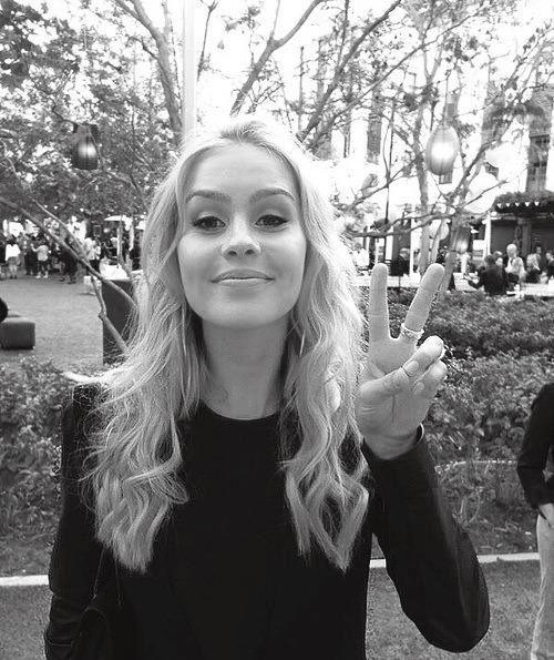 Peace babe!