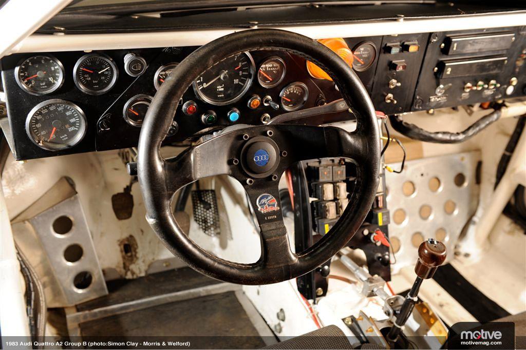 Audi S1 Rally Group B Sports Car Interiors Audi Audi Quattro