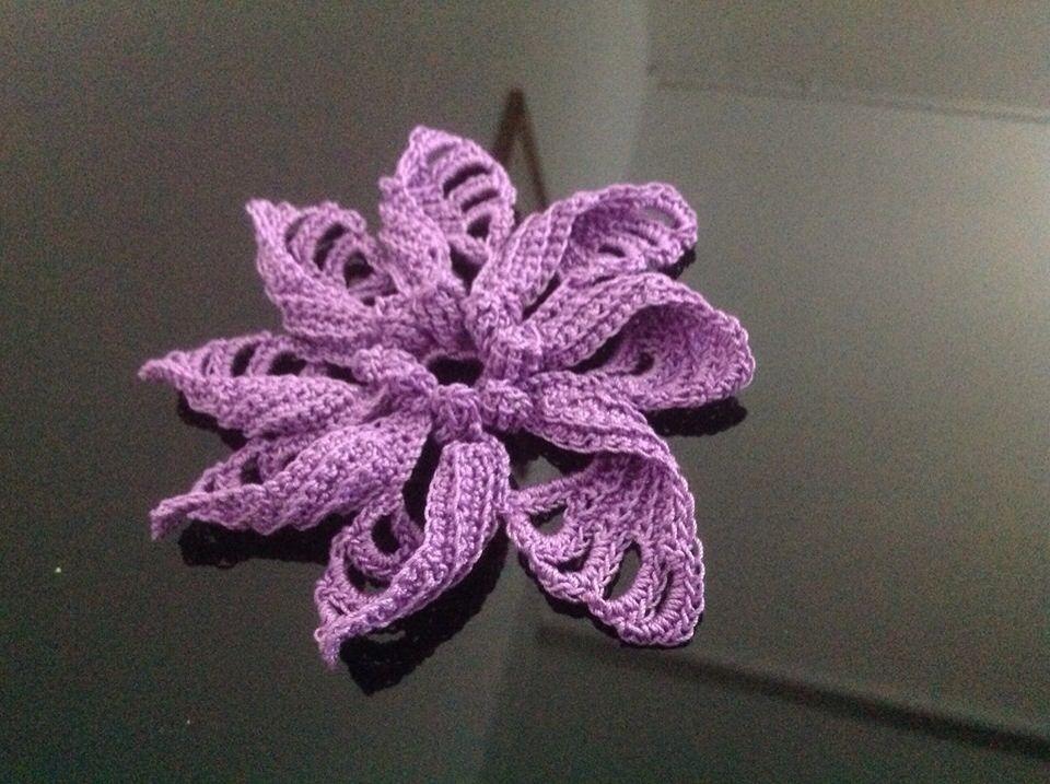 Flora a crochet