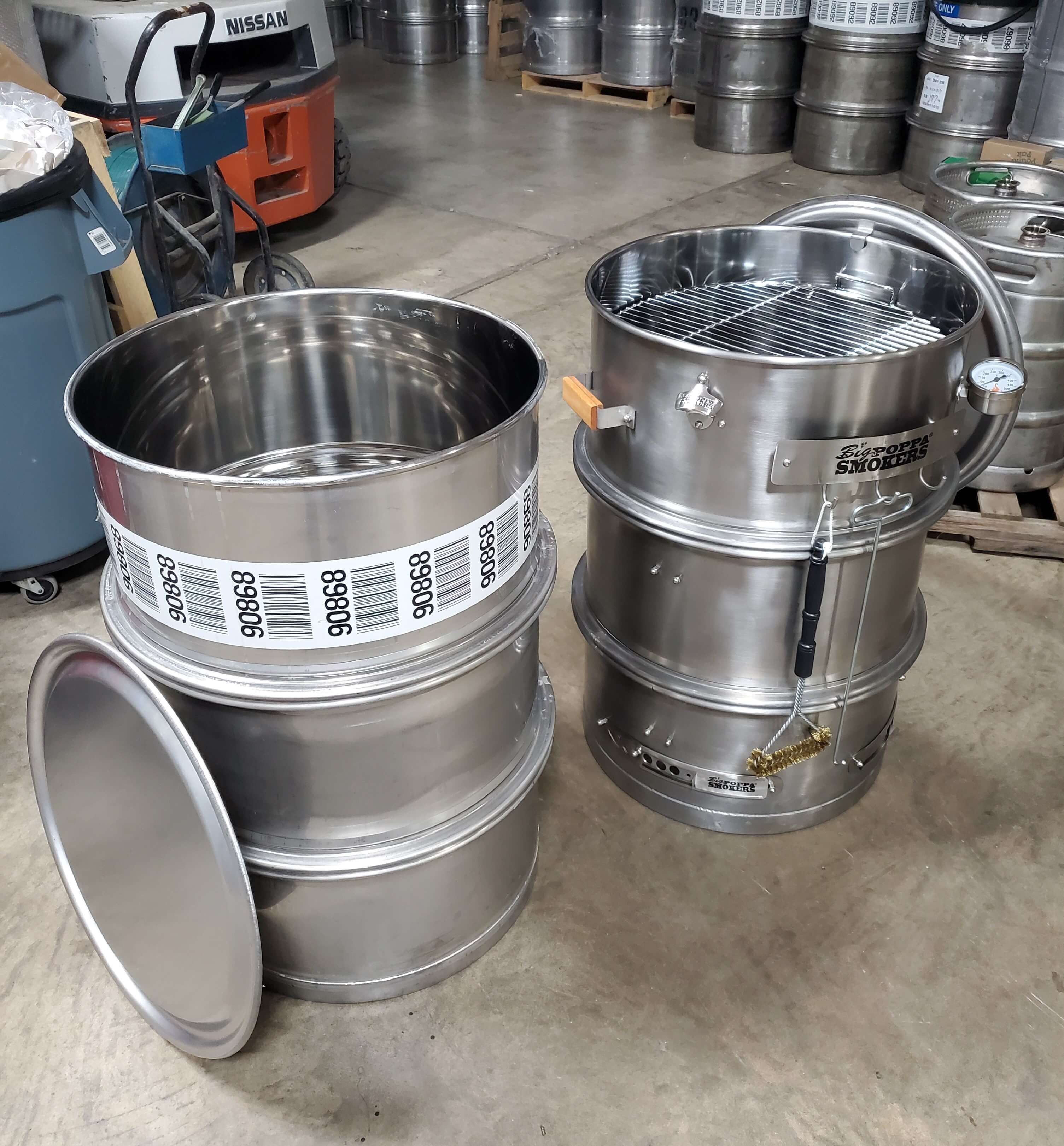 Used Stainless Steel Drum To Lifelong High Quality Stainless Steel Smoker Drum Yes You Will In 2020 Steel Barrel Stainless Steel Drum Stainless Steel Accessories