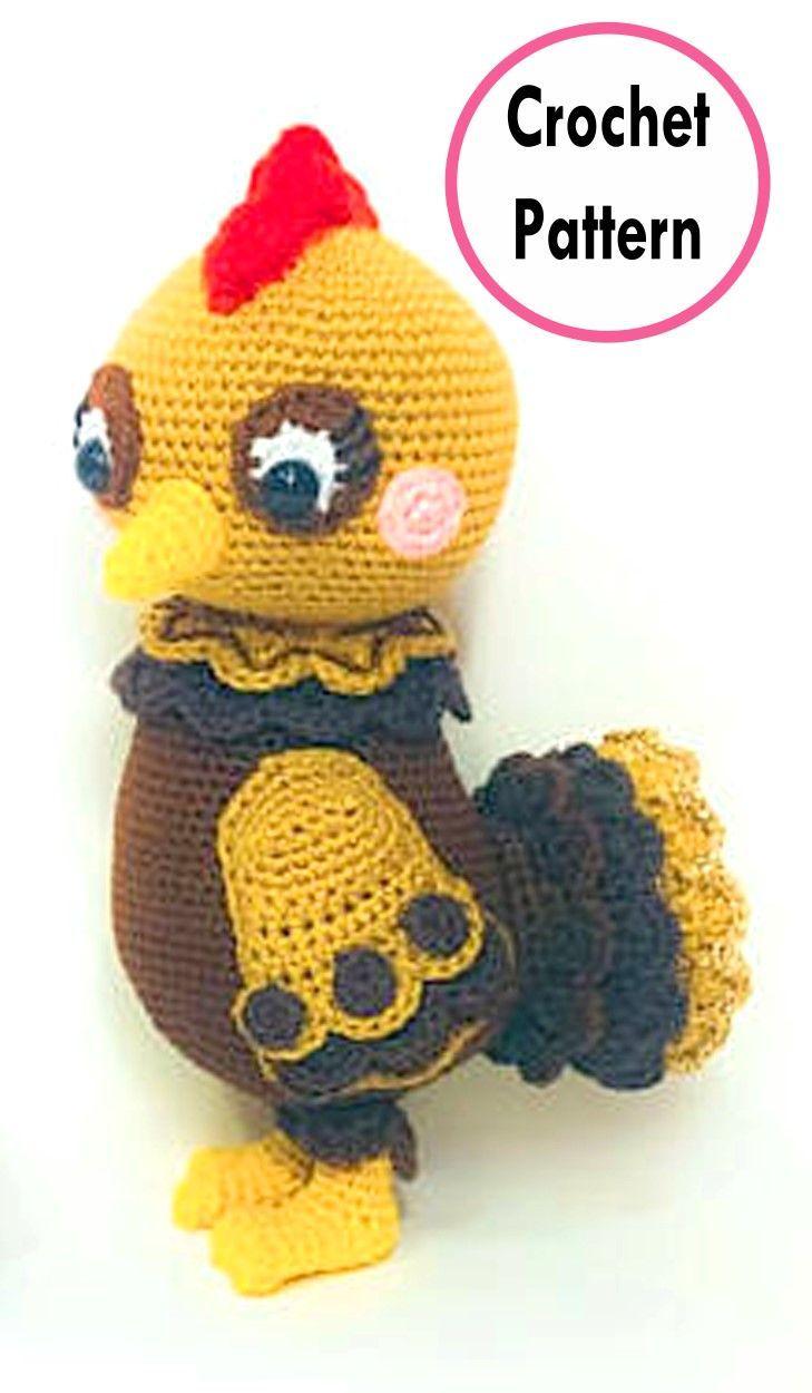 Easter Chick & Chicken Crochet Pattern Roundup!   Amigurumi doll ...