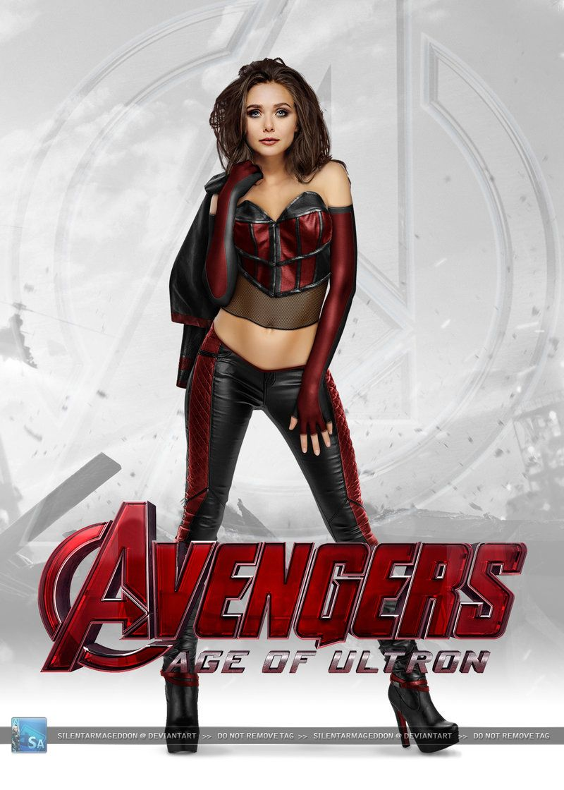 Scarlet Witch: The Avengers Age of Ultron Poster! | Scarlet Witch ...