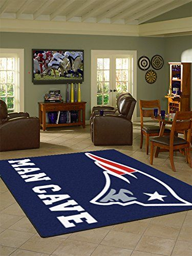 Nfl New England Patriots Man Cave Tailgater Rug 60 Quot X72