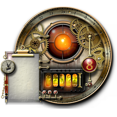 Massive Collection of Steampunk Icons for XP/Vista & OSX