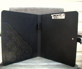 Black Dog Custom Leather: Book Covers - inside