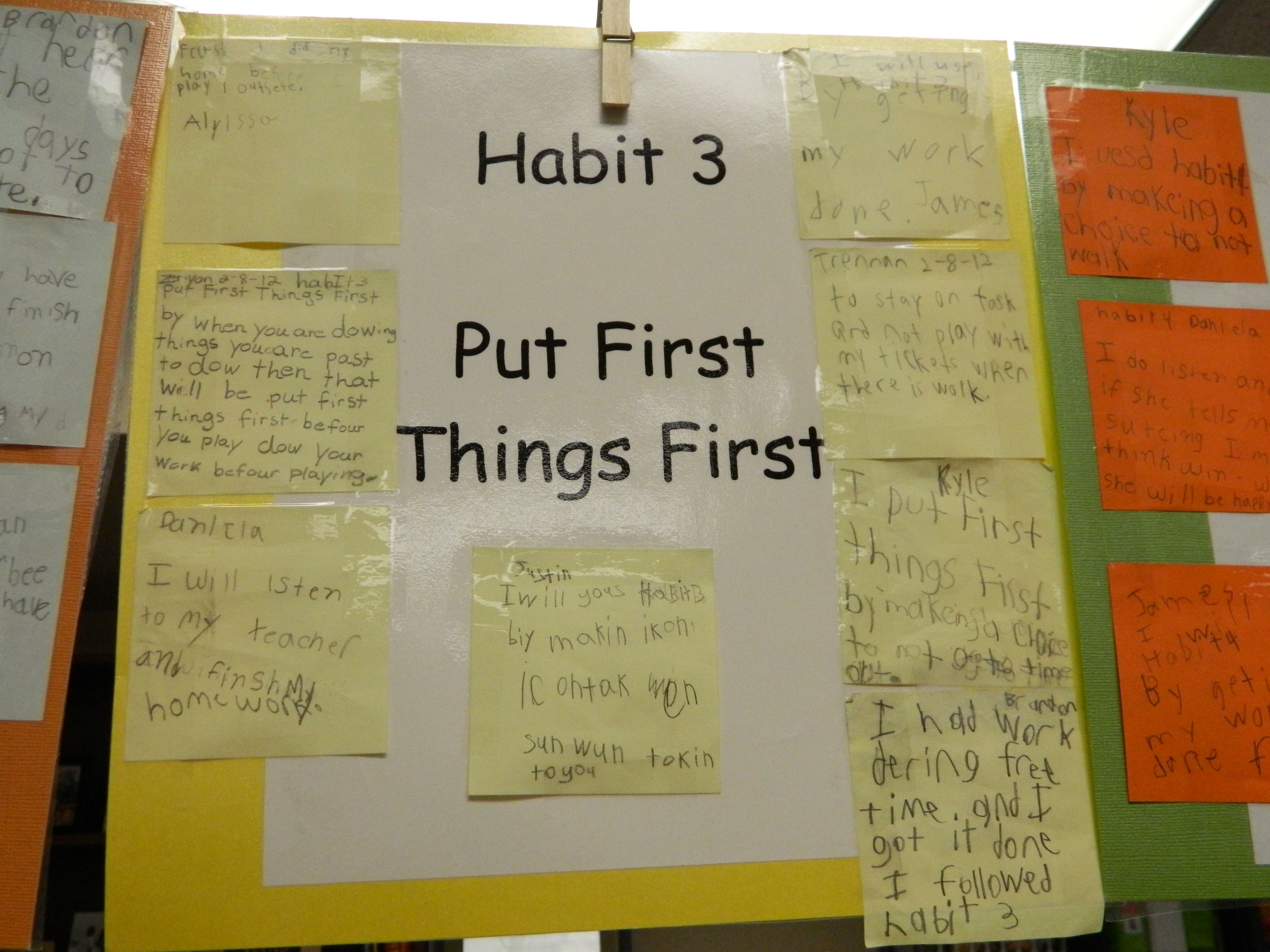 Young Students Come Up With Different Ways That They Can Follow Habit 3