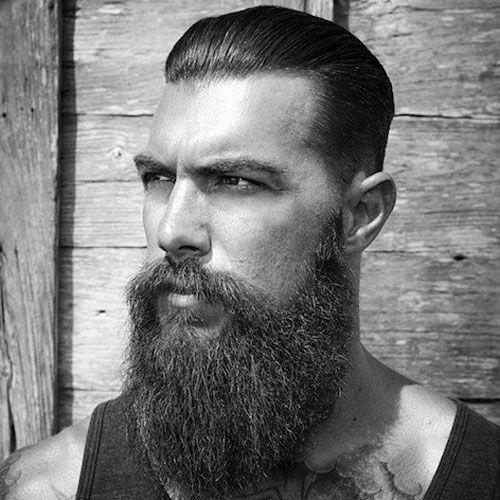 Kurzes Haar Langer Bart Frisuren Crecimiento De Barba Estilos