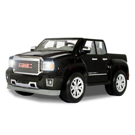 Rollplay GMC Denali 12 Volt Battery Powered Ride-On Vehicle, Black - Walmart.com