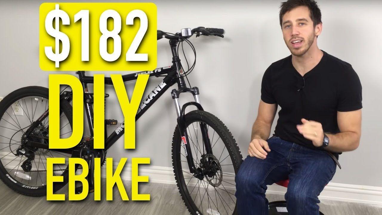 Making a super cheap electric bike for 182 in 2020