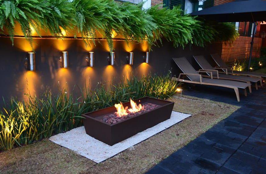 Fotos de decoração, design de interiores e reformas Modern garden