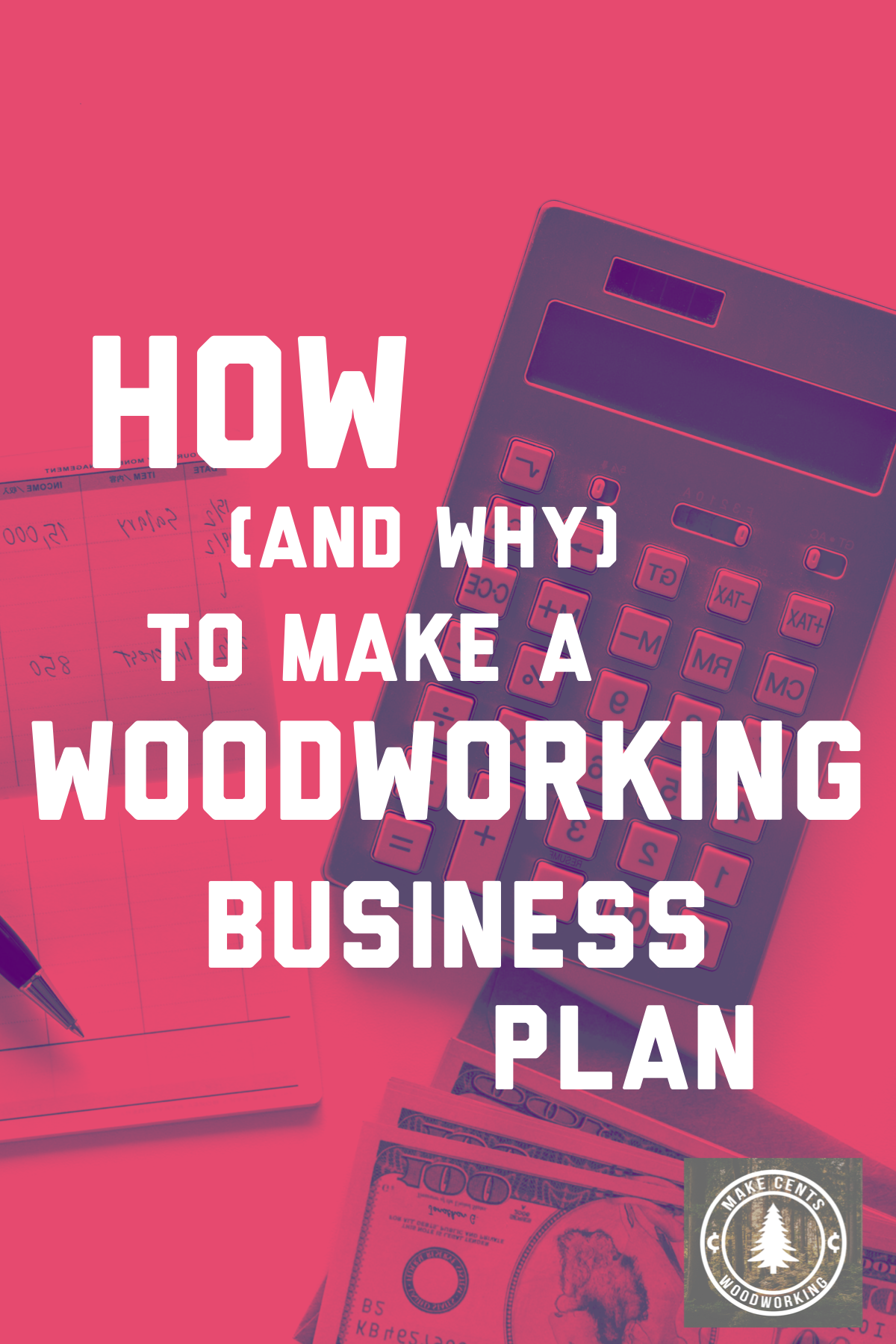 SoloWoodworker - A formal business plan