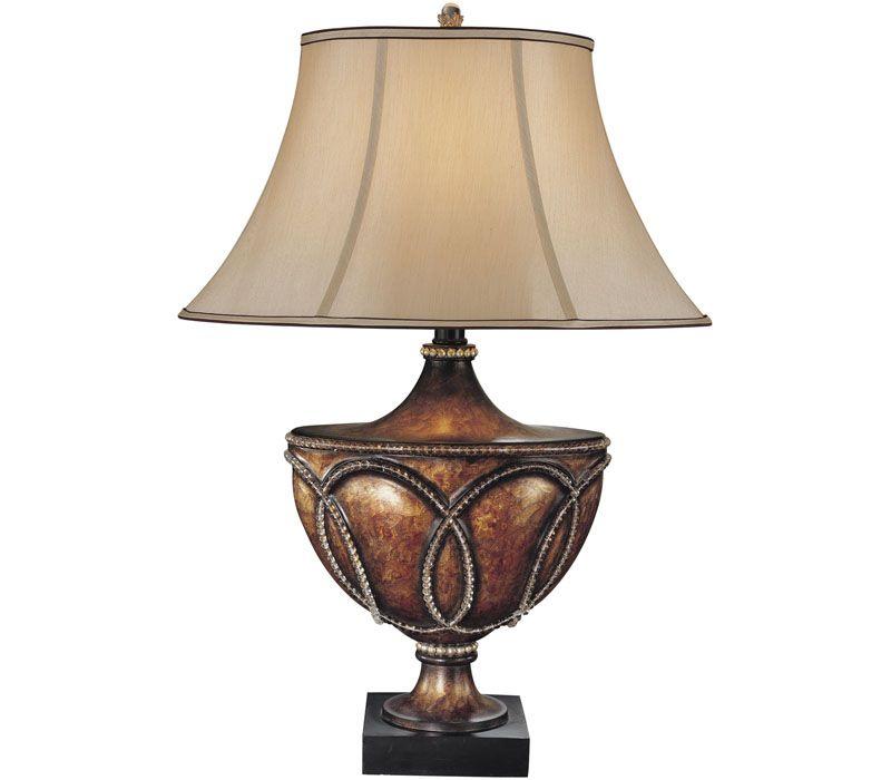 Minka Lavery 12200 206 Aston Court 1LT 150 Watt Bronze Table Lamp