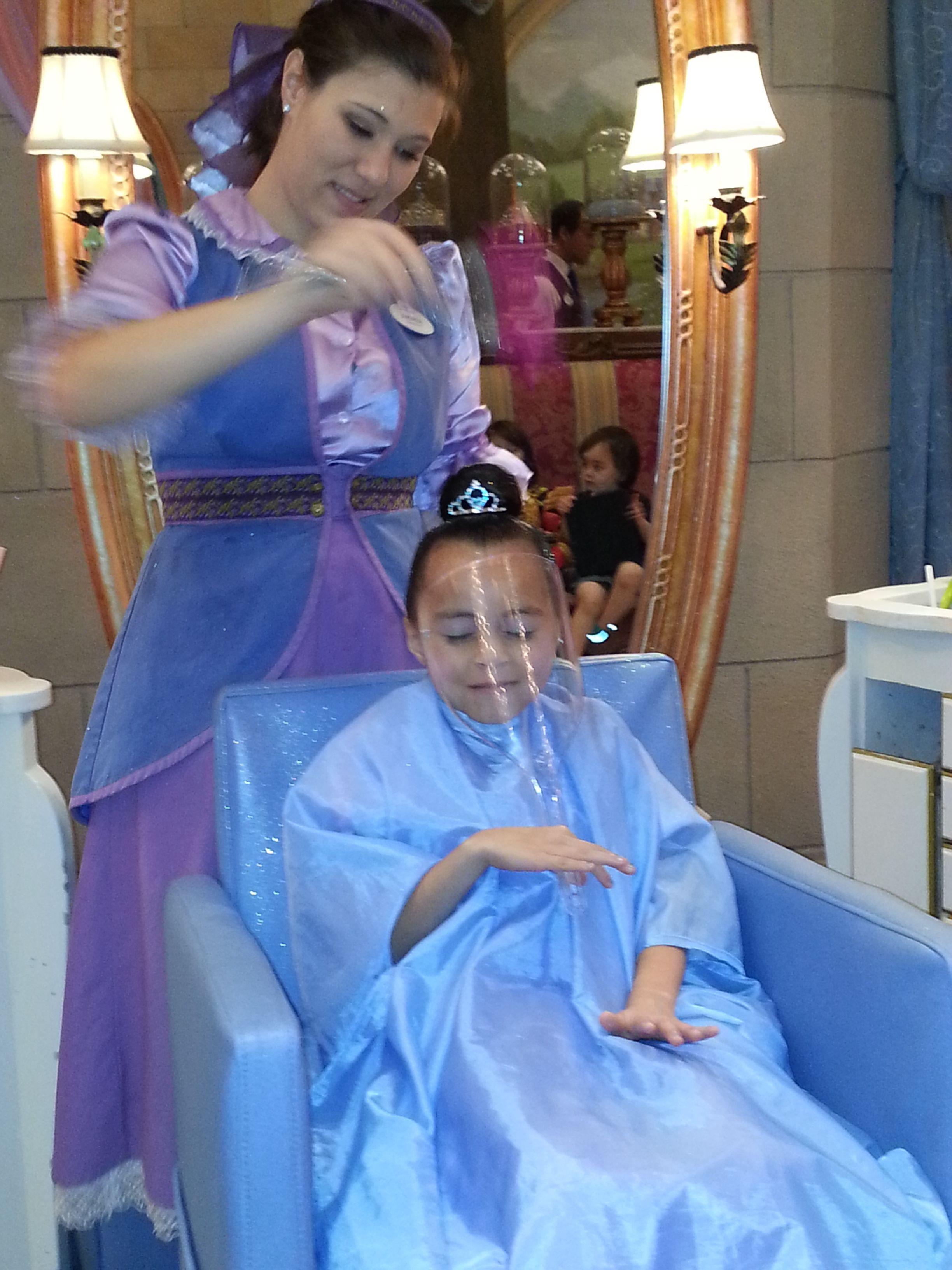Bibbidi Bobbidi Boutique Cinderella Castle In Magic Kingdom