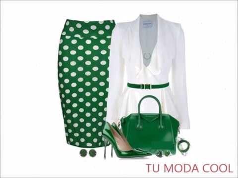 4f443a331 faldas Y Blusas Elegantes Para Señoras Moda 2018 2019 tendencia de ropa  bonita y elegante  - YouTube