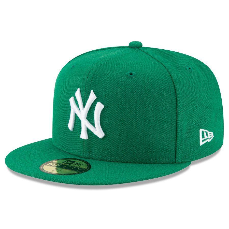 Mens new york yankees new era green fashion color basic