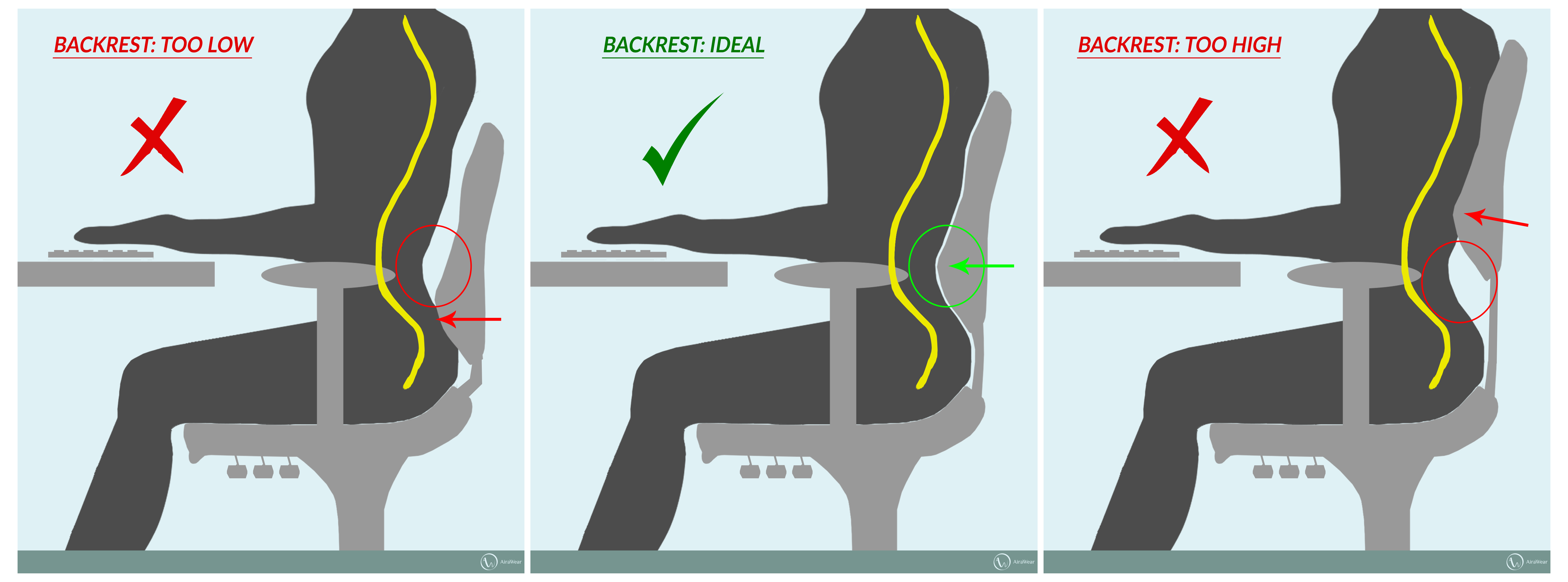 Best Office Chairs For Lower Back Pain Dorm Chair Covers Etsy Find The Ergonomic Lumbar Pelvic And Neck Relief To Give You Sitting Comfort All Day At Work