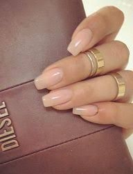 Image Result For Natural Looking Oval Acrylic Nails Oval Acrylic Nails Artificial Nails Fake Nails